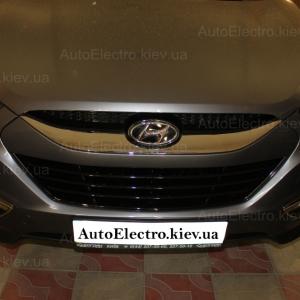 Hyundai IX35 установка штатных дневных ходовых огней DRL