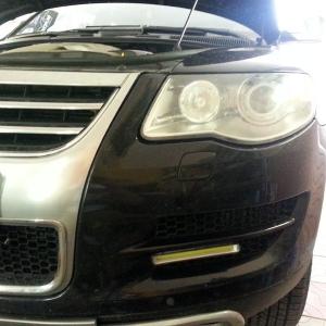 Установка ДХО Auto-LED 01 на VW Touareg
