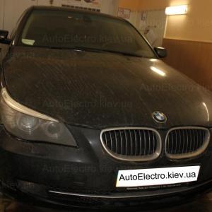 Установка подогрева сидений на BMW E60