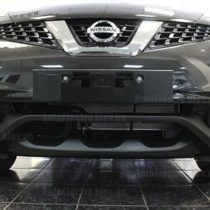 Nissan Juke 2016 г.в. - установка сигнализации, ксенона, штатной магнитолы, камер и зеркала с видеорегистратором