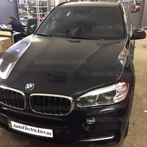 BMW X5 2014 г.в. – установка иммобилайзера