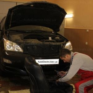 Lexus RX 350 - установка подогрева сидений, подогрева зеркал, установка автосигнализации, установка иммобилайзера