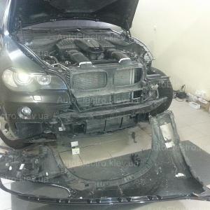BMW X5 E70 – замена штатных би-линз на би-линзы Hella 3 New
