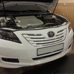 Toyota Camry V40 (тюнинговые фары) - замена штатных линз на биксеноновые линзы Hella 3 New