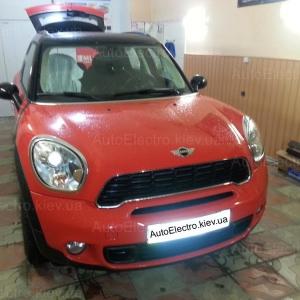 Установка датчиков парковки на Mini Сooper 2012 г.в.