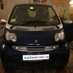 Установка автосигнализации на Smart