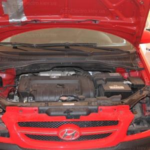 Установка биксеноновых линз на Hyundai Getz