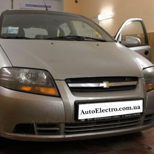 Chevrolet Aveo установка автосигнализации Scher-Khan