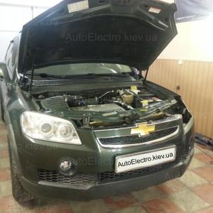 Установка ангельских глазок на Chevrolet Captiva 2008 г.в.