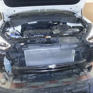 Установка штатных дневных ходовых огней Auto-Led Hyundai Santa Fe 2013