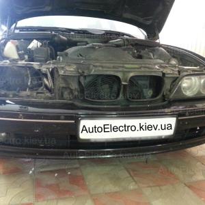 БМВ (BMW) 5 Е39 2003 г.в. Замена штатных линз HELLA 2 на БИ-ЛИНЗУ HELLA 2 CLASSIC 2013+