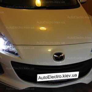 Установка ксенона на Mazda 3 new