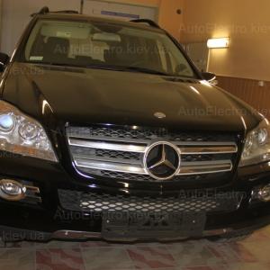 Mercedes GL X164 установка иммобилайзера Pandect IS-650